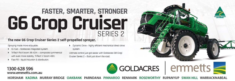 G6 Goldacres quater page ad
